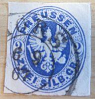 2 Silbergroschen  Preussen 1861