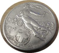 20 centesimi 1908