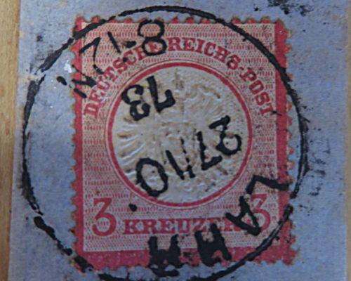 3 Kreuzer 1878