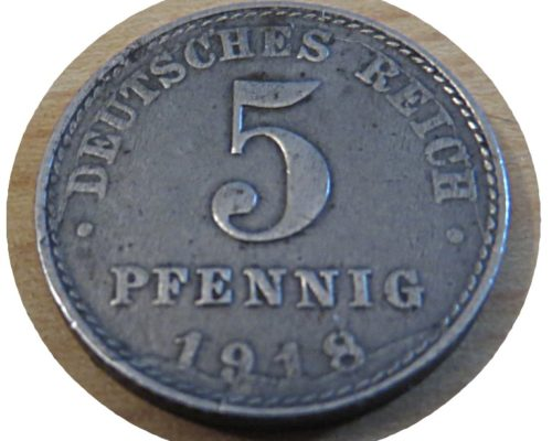 5 Pfennig 1918