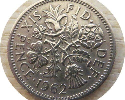 lucky sixpence 1962