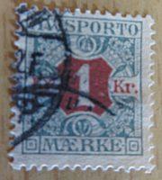 1 Krone avisporto / 5 Öre Avisporto