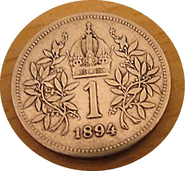 1 Krone 1894  silber
