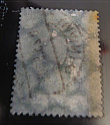 100 Mark 1923 Holztaube gestempelt - Flugpost Ergänzungswerte Wasserzeichen Waffeln