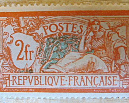 2 France 1920 type merson