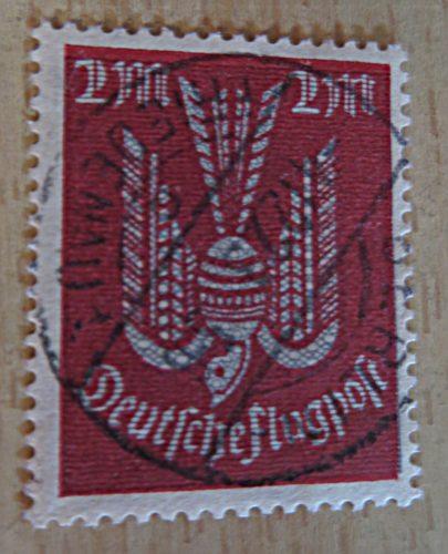 2 Mark 1922 Flugost Holztaube
