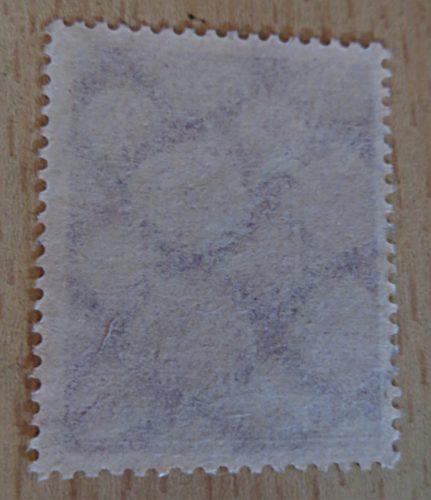 2 Mark 1922 Flugpost Wasserzeichen Waffeln