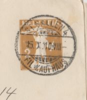 2 Rappen Tellknabe - FIL-Kaufhaus St. Gallen 1910