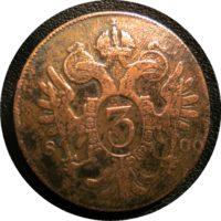 3 Kreuzer 1800
