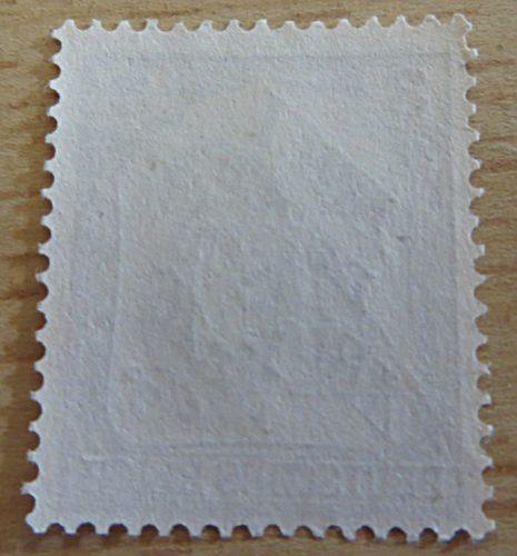 3 Pfennig Nr. 16 frei durch Ablösung Rückseite