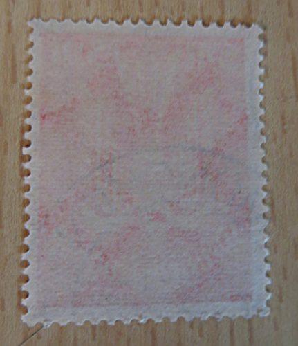 5 Mark 1922 Flugpost Holztaube Wasserzeichen Waffeln