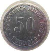 50 Pfennig 1877