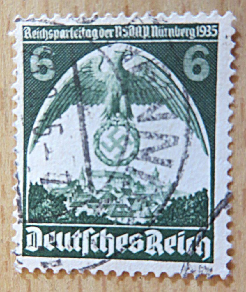 6 Pfennig Reichsparteitag 1935 NSDAP Nürnberg