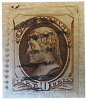 10 Cents Jefferson 1875