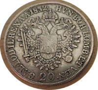 20 Kreuzer A  1832 Kaiser Franz I
