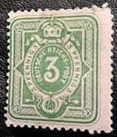 3 Pfennig deutsche Reichspost 1879
