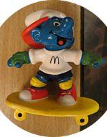 Skateboard Schlumpf 1997 Mc Donald