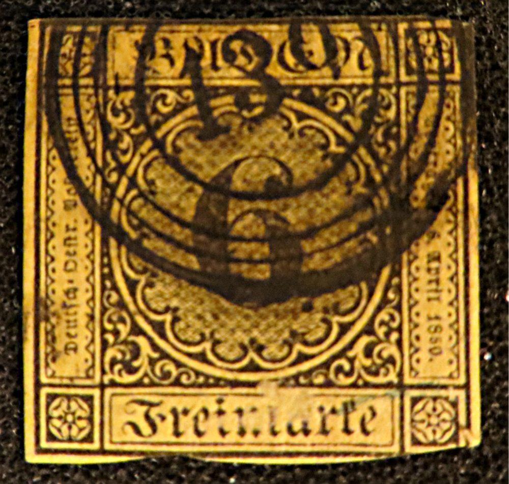 6 Kreuzer 1851 Baden