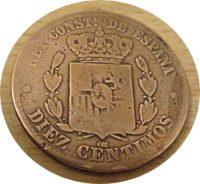 10 Centimos 1877