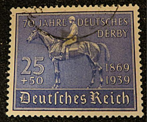 25+50 Pfennig 70 Jahre deutsches Derby