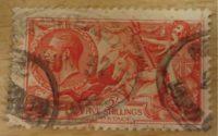 5 shilling King George  V. 1934  half crown King George 1934