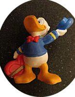 Donald Duck mit Herz Bullyland handpainted