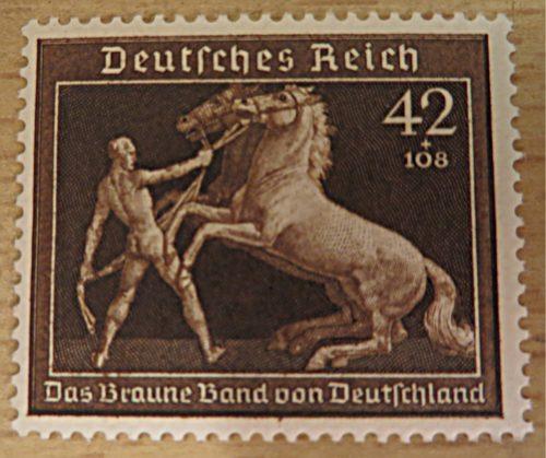 42+108 Pferdedressur Rennen München-Riem 1939