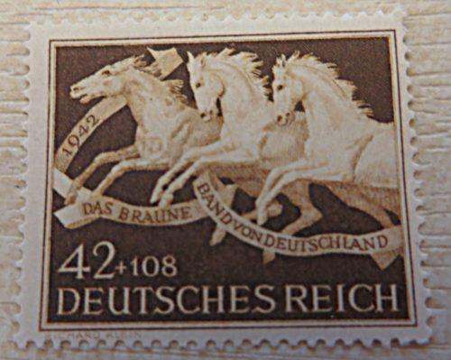 42+108 Pfennig Rennen München-Riem 1942