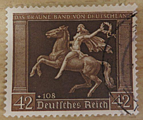 42+108 Pfennig Siegesgöttin mit Siegerkranz 1938