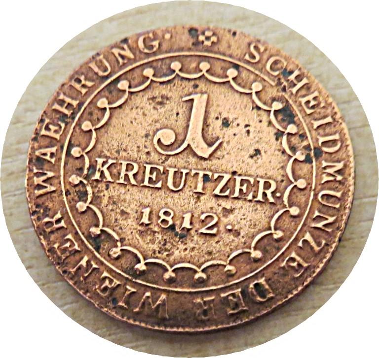 1 Kreutzer B 1812