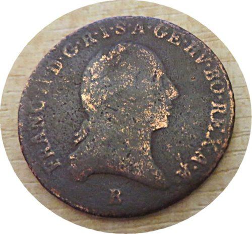 1 Kreuzer 1800 B