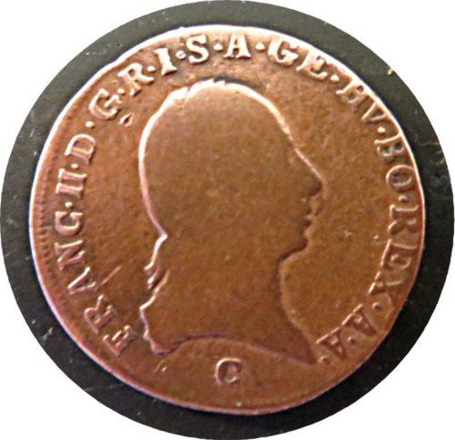 1 Kreuzer 1800 C