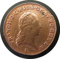 1 Kreuzer 1800 F Kaiser Franz I. v. Österreich (Franz II. ) 1792 - 1835
