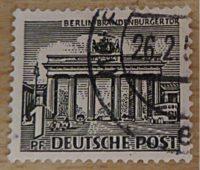 Berliner Bauwerke 1949 - 1954 Briefmarken Deutschland Nachkriegszeit