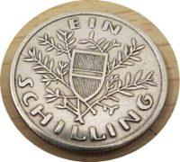 1 Schilling 1925    Österreich 1. Republik Parlament