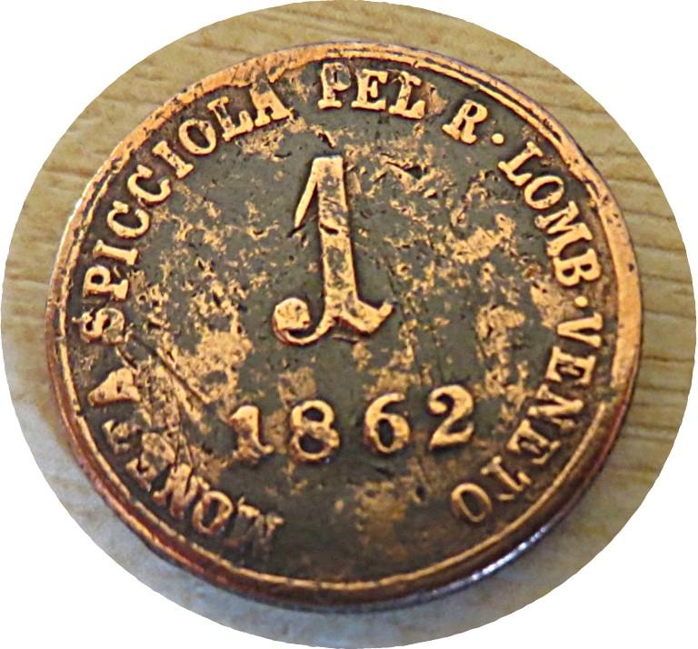 1 Soldo V 1862