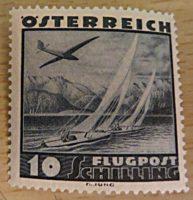 Flugpostmarken 1935 Oesterreich
