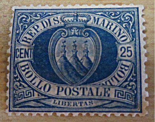 25 Centesimi San Marino 1894