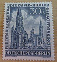 Berlin Gedächtniskirche Briefmarken ungestempelt