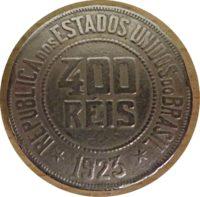 400 Reis 1923 Brasilien