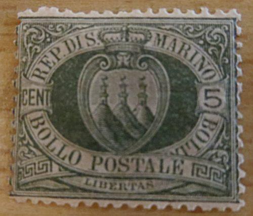 5 Centesimi San Marino 1892