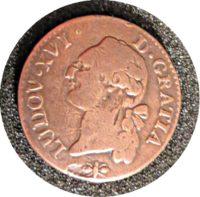 1 Sol 1791Frankreich Ludwig XVI.