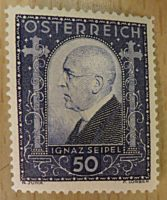 Seipel 1932 Briefmarke Österreich