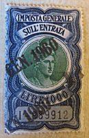 1000 Lire Steuermarke Italien imposto generale sull`entrata