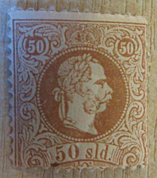 Levante Briefmarken Österreich - Soldi Kaiserkopf im Kreis 1867