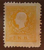 2 Kreuzer 1858 Kaiserkopf links