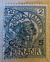 Benadir 1 Besa 1903 /   2 Centesimi auf 1 Besa 1926 /   5 Centesimi auf 2 Besa 1906 / 1916 Italien Briefmarken