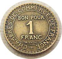 1 Franc bon pour Münzen Frankreich