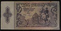 10 Schilling 1950 Banknoten Österreich