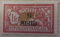 Levante Frankreich 15 Piastre auf 1 France